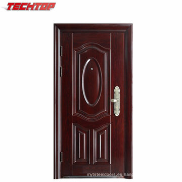 TPS-071 Steel Security Exterior American Entry Door Hecho en China