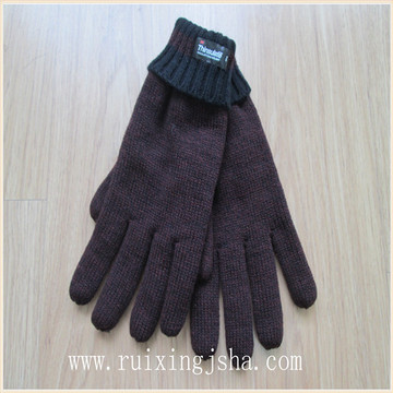 Fashional Men's AB Yarn Winter Gloves