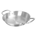 Stainless Steel Sanding Frying Pan
