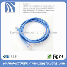 New Assembled RJ45 patch cable 5ft for pc networking Blue