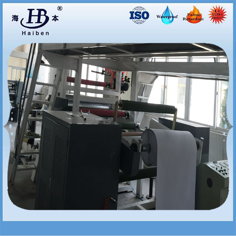 machine of aluminized fiberglass fabric-7