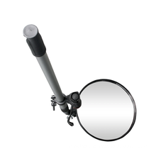 High Quality Round Inspection Convex Mirror for Under Car Searching with Handle, Portable Inspection Small Inspection Mirror