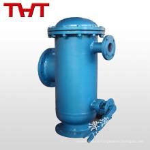 filtro de aguas residuales automático de hierro fundido con pantalla de acero inoxidable