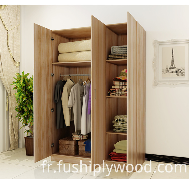 Good Quality Bedroom Furniture Wooden Modern Simplism 3