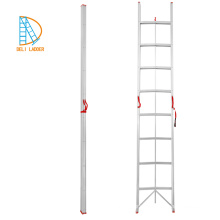 Lightweight Folding Free Standing A type Ladder, fold up stairs, small space foldable ladders