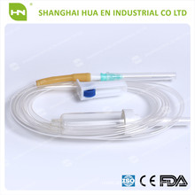 disposable infusion set luer slip or luer lock made in China