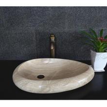 Nouveaux éviers en pierre naturelle de marbre de conception avec le prix bas