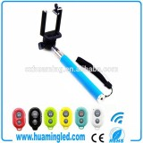 Extendable Handheld Monopod Protable Professional Bluetooth Selfie Stick with Bluetooth Shutter button
