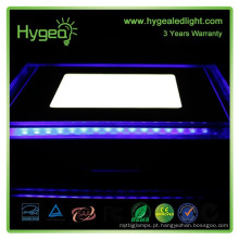 Novo produto! Azul + Branco Cor quadrado 12w led preço do painel de luz