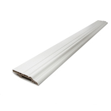 White Flexible Decorative Skirting Boards for Vinyl Flooring