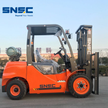 Baru 3.5 tan Gas Forklift Powered Price
