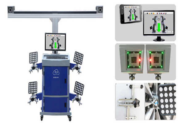 3D Wheel Alignment with Global Vehicle Database