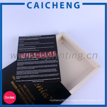 Facemask packaging paper drawer box with matte finish
