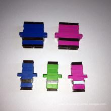 Переходника оптического волокна SC с пурпурным корпусом