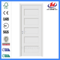 JHK-SK05 Carve Shaker Style White Apartment Door