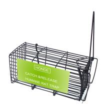 Jaulas de trampa para ratas de alambre fuerte con gancho