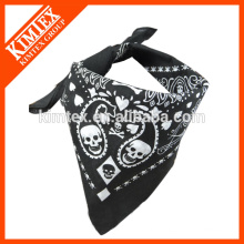 Unique brand printed customized square bandana headband