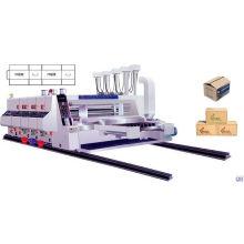 Automatischer Flexodrucker und Slotter