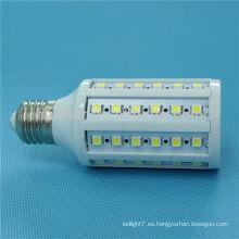 Venta caliente alta luz 1-60w 220V 230V 12V dc b22 e26 e27 12 voltios llevó la luz de maíz