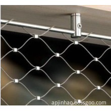 Flexible Stainless Steel Cable Woven Knotted Mesh/Wire Rope Mesh