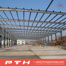 Entrepôt à structure métallique à faible coût de conception personnalisée Pth