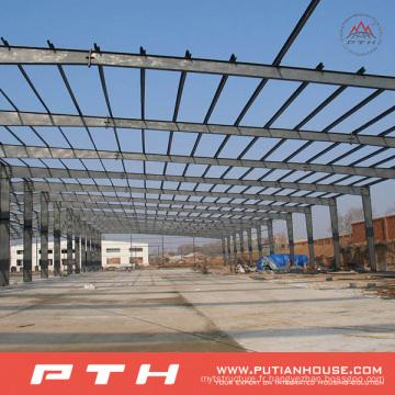 2015 préfabriqué adapté aux besoins du client l'entrepôt de structure métallique de conception