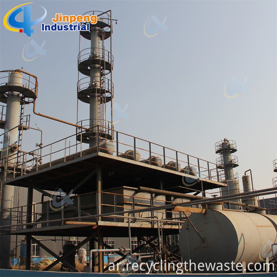 big output gasoline refinery plant