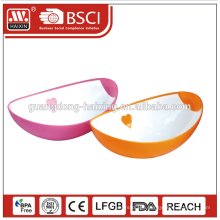 plastic salad bowl / eco-friendly salad bowl / plastic salad bowl