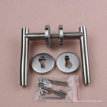 RTH-06 Manijas de puerta de madera tubulares / manija de la palanca de tirón