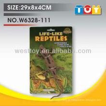 Insetos de borracha suave TPR animic crocodilo