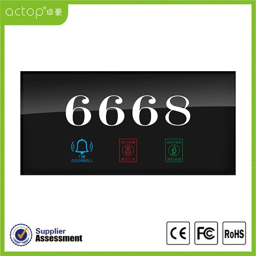 Hotel Electronic Number Doorplate
