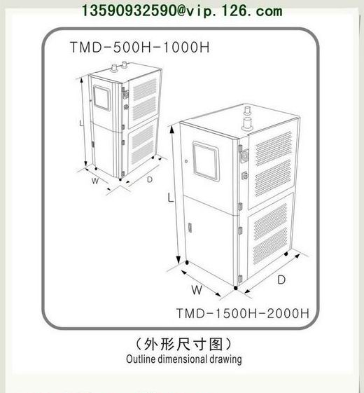 Mold Sweat Dehumidifier Outline Drawing