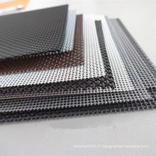 Maille en métal de fil d'acier inoxydable pour la fabrication de fenêtre