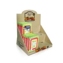 Pop Cardboard Display Stand, Paper Counter Display