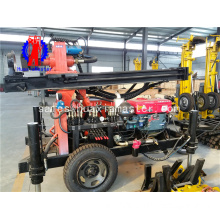 FY130 wheeled type pneumatic drilling rig portable water well drilling rigs