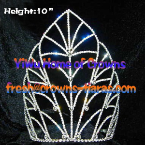 Wholesale 10inch Tall Queen Crowns