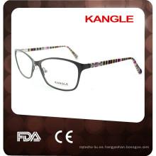 2017 venta caliente venta al por mayor nueva elegante estilo de moda gafas de metal óptico