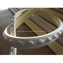 Moldura de panel flexible de cuerda de cinta