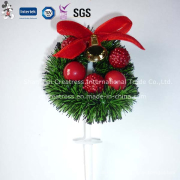 China-preiswerte Weihnachtskuchen-Dekoration