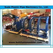 Machine de soudure bout à bout de tuyau de Sud450h HDPE en plastique