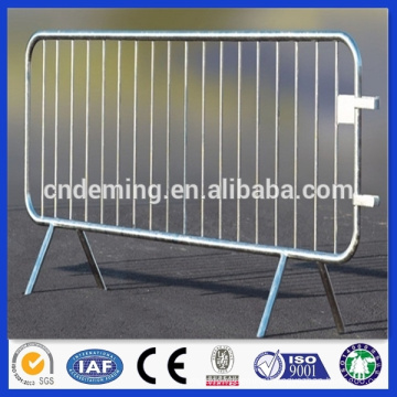Safety traffic barrier, road safety barrier, crowd control barrier