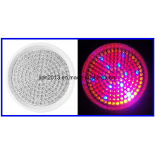 168LED AC110 / 220V 10W R: B: O = 102: 54: 12 Plástico Potted Spectrum Grow Light