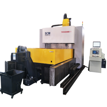 CNC Air pendingin Steel Tube Sheet Drilling Machine