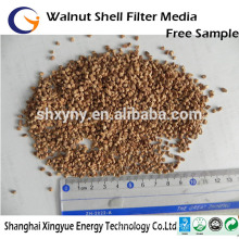 Oil removal /Polishing/abrasive/water filter media granular walnut shell