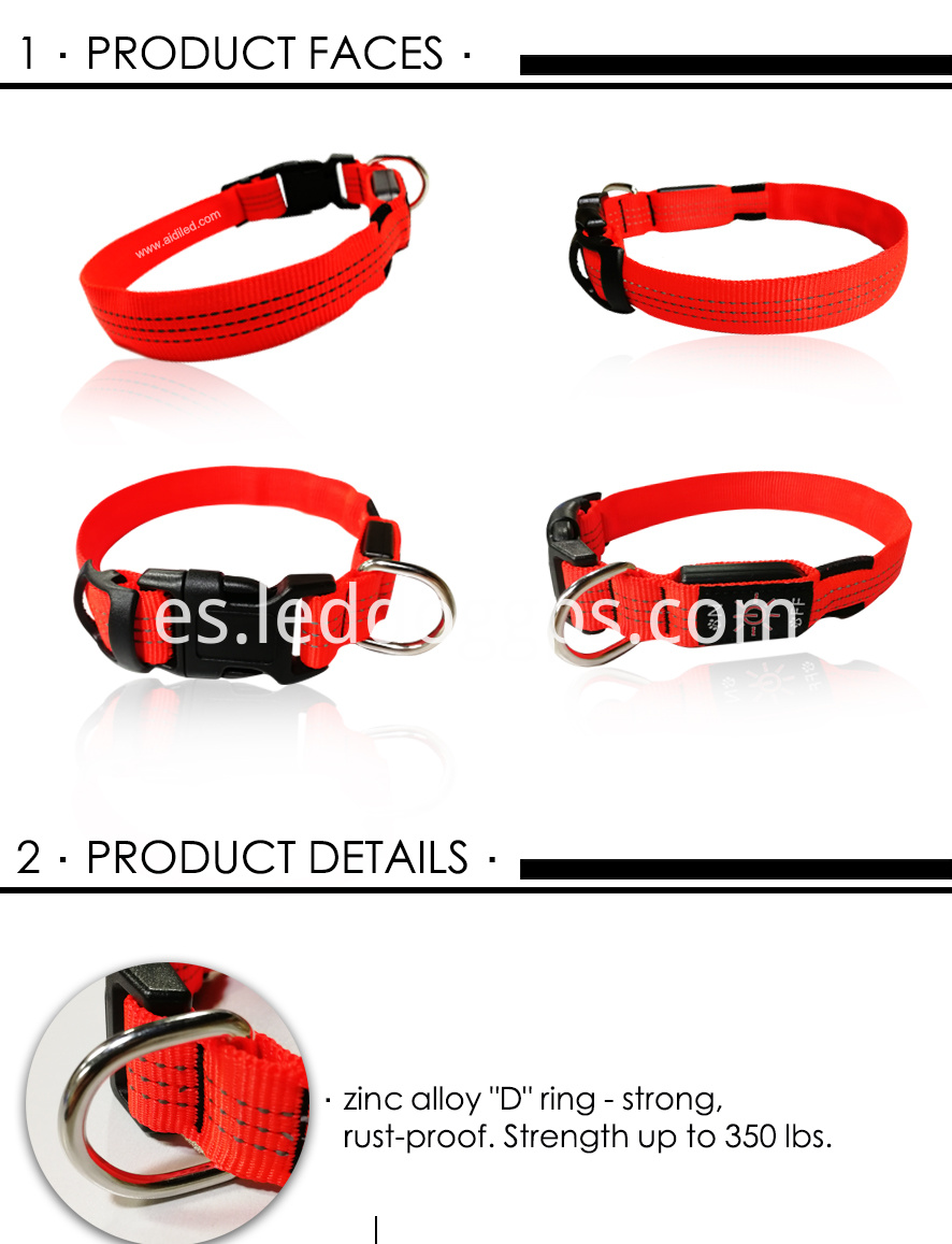Rechargeable Safety Dog Collar