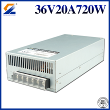 36V 20A 720W Power Supply Untuk Mesin Industri