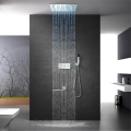 LED Shower Head Bathroom Thermostatic Shower Faucet