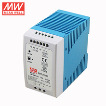 MDR-100-24 24v 4a Din Rail switching mode power supply with PFC and UL CUL TUV CE approved