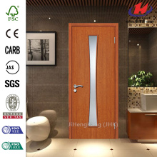 Automatic Sensor Glass Insert Solid Wood Door