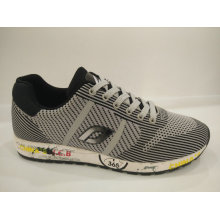 Anti-Microbial Knitting Casual Running Shoes for Men